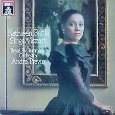 KATHLEEN BATTLE SINGS MOZART / PREVIN- ANGEL DIGITAL LP