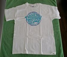 2011 Doheny Blues Music Festival CA T-Shirt White Size M John Fogerty California