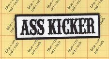 ASS KICKER PATCH IRON ON BIKER SONS OF TOP QUALITY Movie Halloween Costume