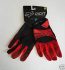 FOX RACING mtb gloves NEW Medium M 9 digit red cycling downhill mountain bike