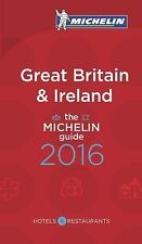 Michelin Red Guide Great Britain and Ireland 2016 LN Paperback Book