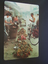 KING'S FRUITS OF CANTON PROVINCE PEOPLE'S REPUBLIC OF CHINA POSTCARD