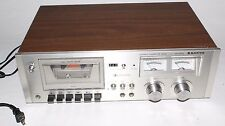 Vintage Sanyo Stereo Cassette Tape Deck RD 5030 Made In Japan RD5030