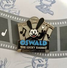 Disney Japan Oswald Pin THE LUCKY RABBIT JCB CARD CLUB Not sold in stores RARE!