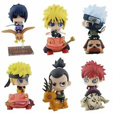 Set 6pcs Anime Naruto Shippuden Petit Chara Land Toy Figure Figurine Doll 2016