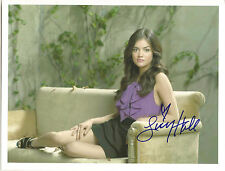 LUCY HALE SIGNED 8X10 PHOTO COA FROM N.A. # 301611