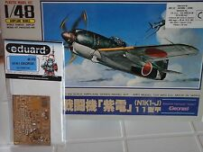 "KAWANISHI INTERCEPTOR SHIDEN N1K1-J ""GEORGE"" 1/48 SCALE ARII MODEL+PHOTOETCHED P"
