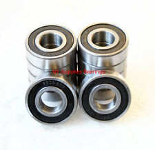 6004-2RS Premium Sealed Ball Bearing, 20x42x12 (Qty. 10 pc), 2 Side Rubber Seals