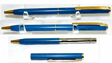 VTG SHEAFFER BALLPOINT PEN BLUE & GOLD BALL POINT WRITING  PEN12
