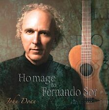 Emmy Nominee John Doan - Homage to Fernando Sor CD, Classical Guitar, Autograph