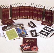 ENCICLOPEDIA MOTTA 18 volumi + VideoVhs + collana Informatica + Transvision