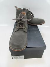 ANDREW MARC Mens DORCHESTER Grey Distressed Leather Chukka Boots US 7.5D