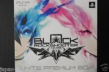 JAPAN PSP Game: Black Rock Shooter The Game White Premium Box