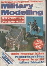 MILITARY MODELLING MAGAZINE  DECEMBER 1983 MODELLING:HULANS IN 54MM  LS