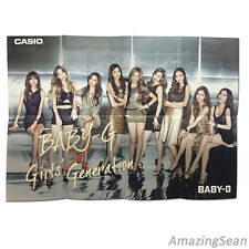 "SNSD Big Poster 28.3x20.5"", Baby-G Official Big Poster with Girls generation"