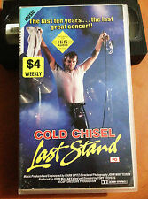 COLD CHISEL LAST STAND - FAREWELL CONCERT, SYDNEY - 1983 VHS