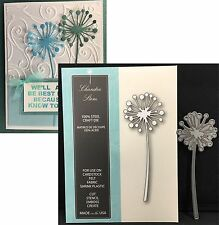 Memory Box dies CHANDRA STEM metal die 99090 All Occasion flowers dandelion