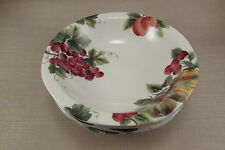 Royal Doulton Everyday China VINTAGE GRAPE Soup / Cereal Bowls - Set of Four