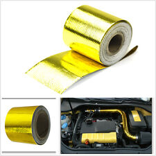 "2""x33' Heat Shield Wrap Tape Car intake intercooler pipe Reflective insulation"