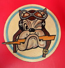 61ST FIGHTER SQUADRON/56TH FTR. GRP. LAYERED LEATHER PATCH