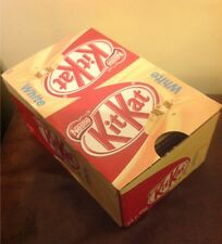 x 24 Nestle Kit Kat White chocolate bars full box kitkat 45g bulk wholesale deal