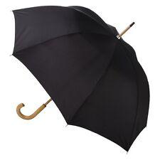 totes Wooden Stick Umbrella - Black