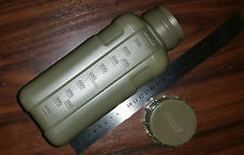 WATER BOTTLE FLASK - BPA FREE AUSTRALIAN MADE BY DECOR OLIVE GREEN NEW