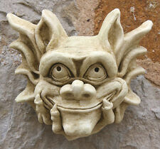 Latex Rubber Mould Mold Molds Of a Smilling Gargoyle Plaque