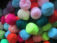 Job Lot Mixed Oddments multi colours DK Wool Yarn Knit/Crochet Toys Crafts