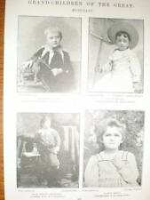 Photos grand-children famous musicians 1896