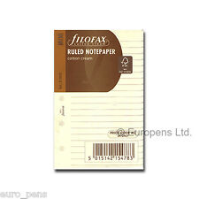 Filofax Insert Mini Cream Ruled Paper 513053