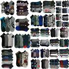 Mens Bulk Socks Lot Wholesale 120 - 1200 Pairs Anklet Random Assortment Lots