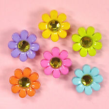 DRESS IT UP Buttons Delighful Daisies 7813 - Embellishments Daisy Flower Garden