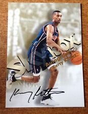 1998-99 SKYBOX PREMIUM CERTIFIED AUTHENTIC AUTO AUTOGRAPHICS KERRY KITTLES #71