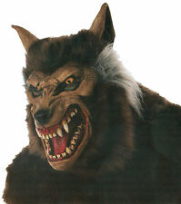 HALLOWEEN ADULT  WEREWOLF DELUXE   MONSTER HORROR MASK PROP