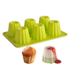 6 Hole DIY Mousse Jelly Chocolate Handmade Candy Silicone Mold cake Baking Molds