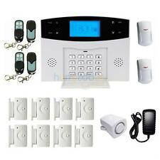 Home Security Wireless GSM SMS Burglar Detector Sensor Auto-Dial Alarm System US