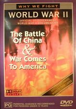 World War II The Battle Of China & War Comes To America DVD