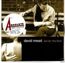 (H354) David Mead, Girl on the Roof - DJ CD