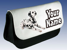 DALMATION PERSONALISED LADIES / GIRLS KIDS MAKE UP BAG /PENCIL CASE /DS- GIFT !!