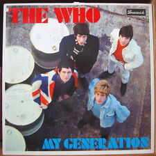 THE WHO MY GENERATION RE-ISSUE DOUBLE LP DELUXE EDITION POLYDOR 113 981-1