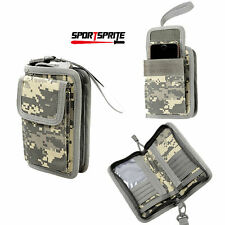 Sports Outdoor Men Wallet Airsoft Sundries Card Bag Cell Phone Cover Case ACU