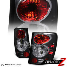 1999-2004 Jeep Grand Cherokee Black LED Signal Tail Light Brake Lamp WG WJ LH+RH
