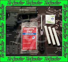 Combo Saver Kit for GLOCK Front Rear Sight Tool Disassembly/Installation Loctite