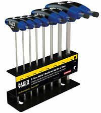 "Klein Tools JTH98M 8 Piece 9"" Metric Journeyman T-Handle Set w/ Stand"