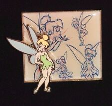 Tinker Bell from the Disney Store Sketch Series, LE250 Pin