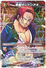 One Piece Miracle Battle Carddass Red Haired Shanks Miracle Rare OP 79/85