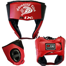 Rix Training Head Guard Helmet Boxing MMA Martial Art Kick Gear Face Protector L