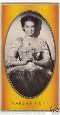 MARSHA HUNT ACTRESS ACTRICE États-Unis USA IMAGE CARD 30s