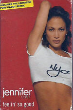 Jennifer Lopez ‎Feelin' So Good CASSETTE SINGLE inc Puff Daddy remix JLO House